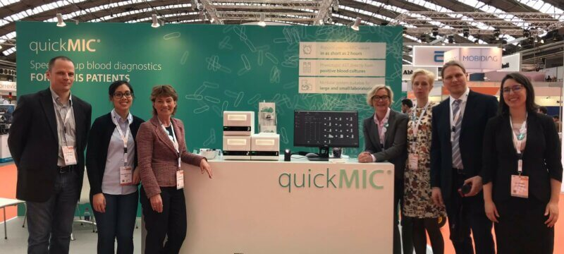 Image for Gradientech previews QuickMIC at ECCMID 2019